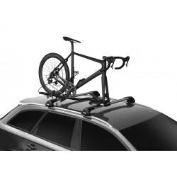 Porte vélo de toit sur fourche Thule TopRide