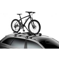 Porte vélo de toit sur fourche Thule ProRide